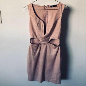 Mauve sexy dress